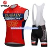 2018 BAHRAIN MERIDA Cycling Maillot Ciclismo Vest Sleeveless and Cycling Bib Shorts Cycling Kits cycle jerseys Ciclismo bicicletas S