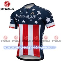 2018 AQUABLUE Cycling Jersey Ropa Ciclismo Short Sleeve Only Cycling Clothing cycle jerseys Ciclismo bicicletas maillot ciclismo S
