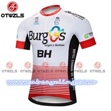2018 Burgos BH Cycling Jersey Ropa Ciclismo Short Sleeve Only Cycling Clothing cycle jerseys Ciclismo bicicletas maillot ciclismo S