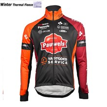 2017 Pauwels Sauzen-Vastgoedservice Thermal Fleece Cycling Jersey Ropa  Ciclismo Winter Long Sleeve Only Cycling 5d2443a2f