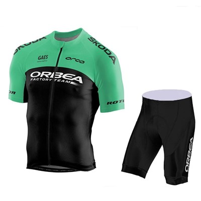 2018 ORBEA FACTORY TEAM Cycling Jersey Short Sleeve Maillot Ciclismo and Cycling  Shorts Cycling Kits cycle jerseys Ciclismo bicicletas-Up to 60% off a3b6b5cef
