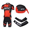 2013 bmc Cycling Jersey+Shorts+Scarf+Arm sleeves S