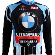 2013 BMW Thermal Fleece Cycling Jersey Long Sleeve Only Cycling Clothing S
