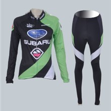 2012 women subaru Cycling Jersey Long Sleeve and Cycling Pants Cycling Kits