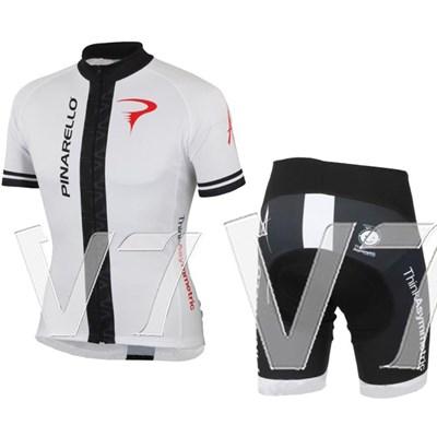 ... USD 28.99  2014 pinarello blue white Cycling Jersey Short Sleeve and  Cycling Shorts Cycling Kits 65d44931e