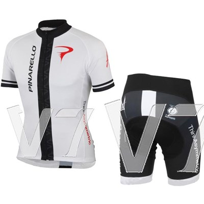 2014 pinarello blue white Cycling Jersey Short Sleeve and Cycling Shorts Cycling Kits