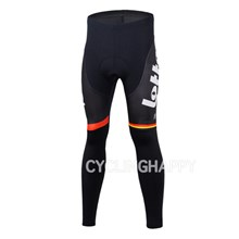 2014 LOTTO BELISOL Thermal Fleece Cycling Pants Only Cycling Clothing