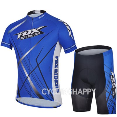 2014 FOX Cycling Jersey Short Sleeve and Cycling Shorts Cycling Kits