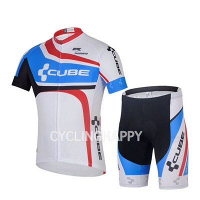 2014 CUBE Cycling Jersey Short Sleeve and Cycling Shorts Cycling Kits