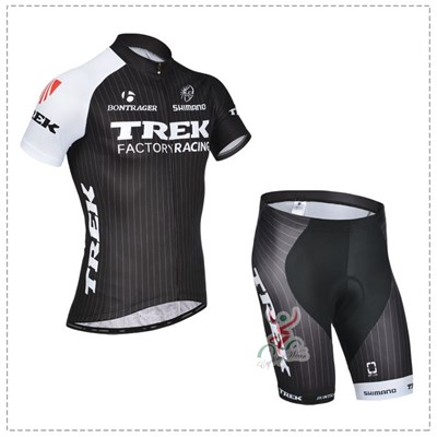 2014 TREK Cycling Jersey Short Sleeve and Cycling Shorts Cycling Kits