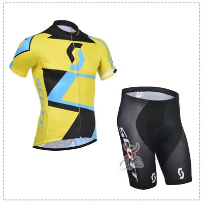 2014 SCOTT Cycling Jersey Short Sleeve and Cycling Shorts Cycling Kits