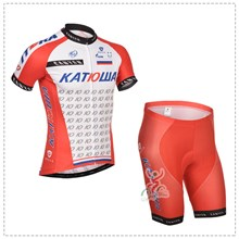 2014 katusha Cycling Jersey Short Sleeve and Cycling Shorts Cycling Kits