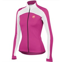 2014  Women CASTELLI Thermal Fleece Cycling Jersey Long Sleeve Only Cycling Clothing