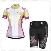 2014 Women pearl izumi Cycling Jersey Short Sleeve and Cycling Shorts Cycling Kits