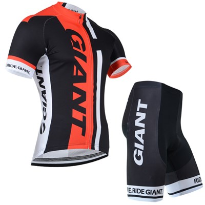 2014 Giant Cycling Jersey Short Sleeve and Cycling Shorts Cycling Kits