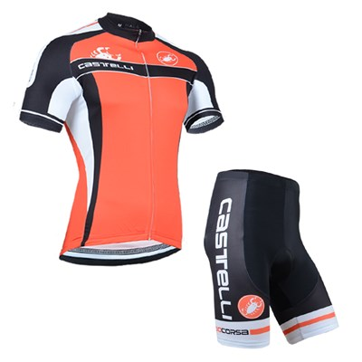 2014 Castelli Cycling Jersey Short Sleeve and Cycling Shorts Cycling Kits