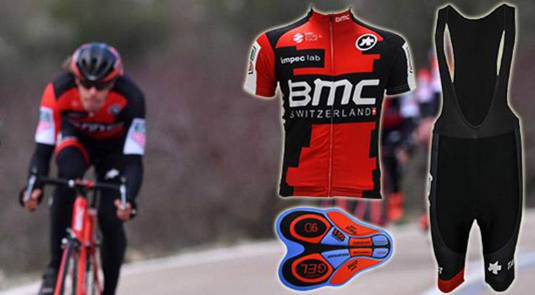 2017 BMC 01 Cycling Jersey Maillot Ciclismo Short Sleeve and Cycling bib  Shorts Cycling Kits Strap 8b326cdd9