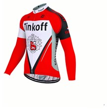 2017 Tinkoff red Cycling Jersey Long Sleeve Only Cycling Clothing cycle jerseys Ropa Ciclismo bicicletas maillot ciclismo