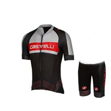 2017 CASTELLI Cycling Jersey Short Sleeve Maillot Ciclismo and Cycling Shorts Cycling Kits cycle jerseys Ciclismo bicicletas