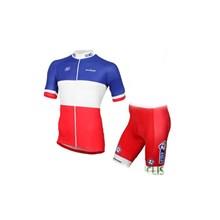 2017 FDJ Cycling Jersey Short Sleeve Maillot Ciclismo and Cycling Shorts Cycling Kits cycle jerseys Ciclismo bicicletas
