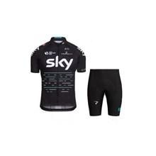 2017 SKY Cycling Jersey Short Sleeve Maillot Ciclismo and Cycling Shorts Cycling Kits cycle jerseys Ciclismo bicicletas