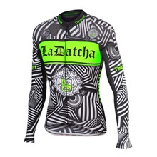 2016 Tinkoff saxo bank Fluo Green Cycling Jersey Long Sleeve Only Cycling Clothing cycle jerseys Ropa Ciclismo bicicletas maillot ciclismo