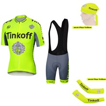 e614ae9b4 ... 2016 Tinkoff Saxo Bank Fluo Yellow Cycling Jersey Maillot Ciclismo  Short Sleeve and Cycling Bib Shorts