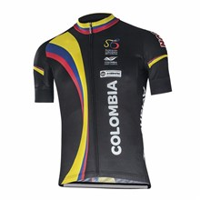 2017 colombia black Cycling Jersey Ropa Ciclismo Short Sleeve Only Cycling Clothing cycle jerseys Ciclismo bicicletas maillot ciclismo