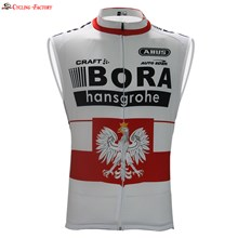 2017 BORA red/white Cycling Vest Jersey Sleeveless Ropa Ciclismo Only Cycling Clothing cycle jerseys Ciclismo bicicletas maillot ciclismo cycle jerseys