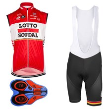 2017 LOTTO SOUDAL Cycling Maillot Ciclismo Vest Sleeveless and Cycling Shorts Cycling Kits cycle jerseys Ciclismo bicicletas