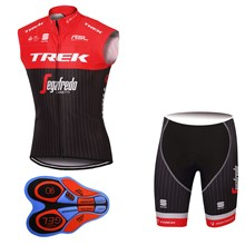2017 TREK SEGAFREDO Red  Cycling Vest Maillot Ciclismo Sleeveless and Cycling Shorts Cycling Kits cycle jerseys Ciclismo bicicletas