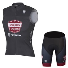 2017 STRADE BIANCHE BODYFIT GF  GILET Cycling Vest Maillot Ciclismo Sleeveless and Cycling Shorts Cycling Kits cycle jerseys Ciclismo bicicletas
