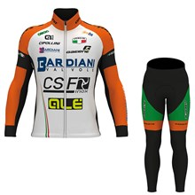 2017 BARDIANI CSF Cycling Jersey Long Sleeve and Cycling Pants Cycling Kits