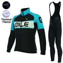 c81c7ccee ... 2017 Women s ALE EXCEL WEDDELL BLACK LIGHT BLUE Thermal Fleece Cycling  Jersey Long Sleeve Ropa Ciclismo