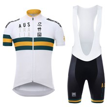 2017 AUSTRALIAN NATIONAL TEAM Cycling Maillot Ciclismo Vest Sleeveless and Cycling  Shorts Cycling Kits cycle jerseys dc76f5019
