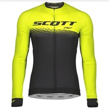 2018 Scott Cycling Jersey Long Sleeve Only Cycling Clothing cycle jerseys Ropa Ciclismo bicicletas maillot ciclismo XS