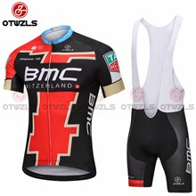 2018 BMC GOLD Cycling Jersey Maillot Ciclismo Short Sleeve and Cycling bib Shorts Cycling Kits Strap cycle jerseys Ciclismo bicicletas