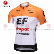 2018 EF DRAPAC CANNOONDALE Cycling Jersey Ropa Ciclismo Short Sleeve Only Cycling Clothing cycle jerseys Ciclismo bicicletas maillot ciclismo