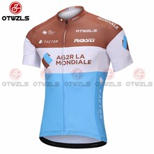 2018 AG2R Cycling Jersey Ropa Ciclismo Short Sleeve Only Cycling Clothing cycle jerseys Ciclismo bicicletas maillot ciclismo