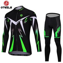 OTWZLS Cycling Jersey Long Sleeve and Cycling Pants Cycling Kits