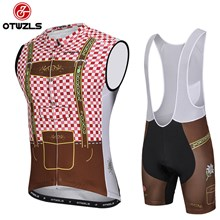 OTWZLS Cycling Jersey Maillot Ciclismo Short Sleeve and Cycling bib Shorts Cycling Kits Strap cycle jerseys Ciclismo bicicletas