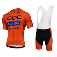 2017 Race CCC Sprandi Cycling Jersey Maillot Ciclismo Short Sleeve and Cycling  bib Shorts Cycling Kits d9481baf4