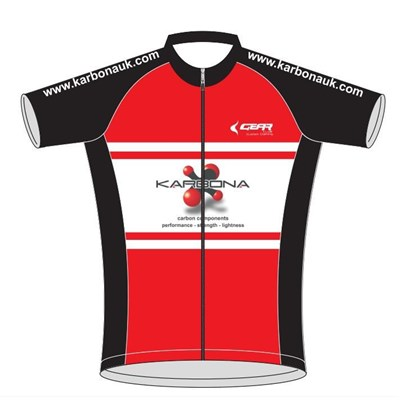Gear Karbona Cycling Short Sleeves Jersey only