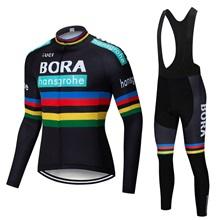 2019 BORA Men Cycling Clothes Pro team autumn Jersey long sleeve wear suit  Breathable Sport Uniform 4220eec12