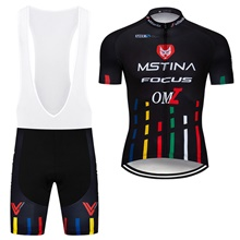 2b9f2a4b3 2019 MsTina Focus Cycling Jersey Maillot Ciclismo Short Sleeve and Cycling  bib Shorts Cycling Kits Strap