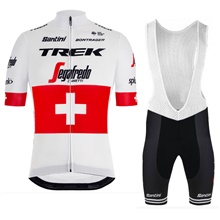 2019 TREK SEGAFREDO SWISSE CHAMPION Cycling Jersey Maillot Ciclismo Short  Sleeve and Cycling bib Shorts Cycling a1fe78738