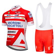 428fab268 2019 Androni Cycling Jersey Maillot Ciclismo Short Sleeve and Cycling bib  Shorts Cycling Kits Strap cycle